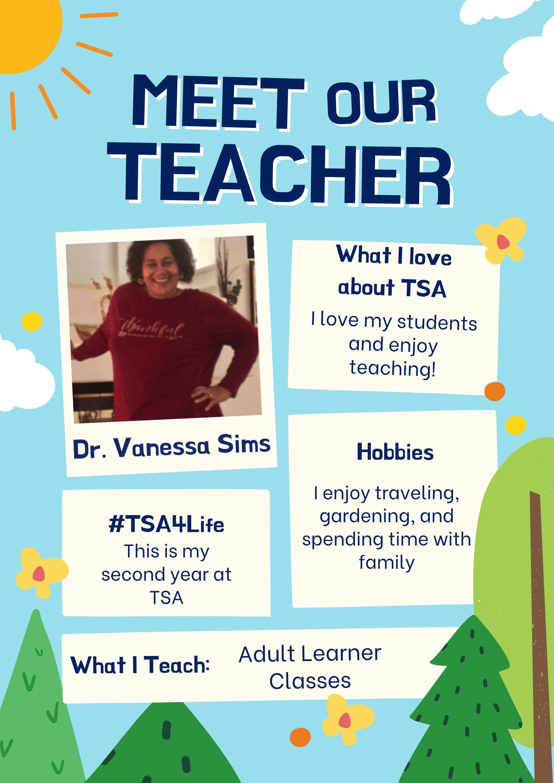 Adult Leaner Teacher at Texas Success Academy